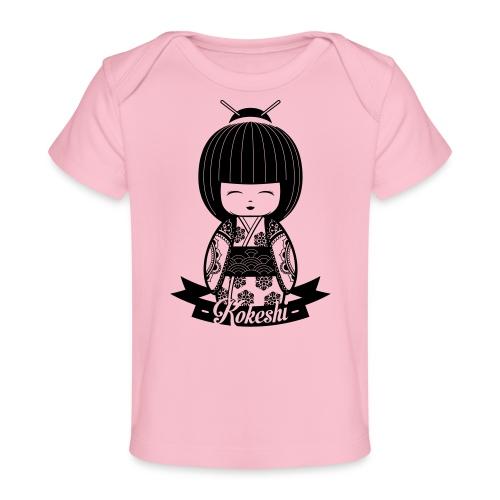 Kokeshi Black - Baby Bio-T-Shirt