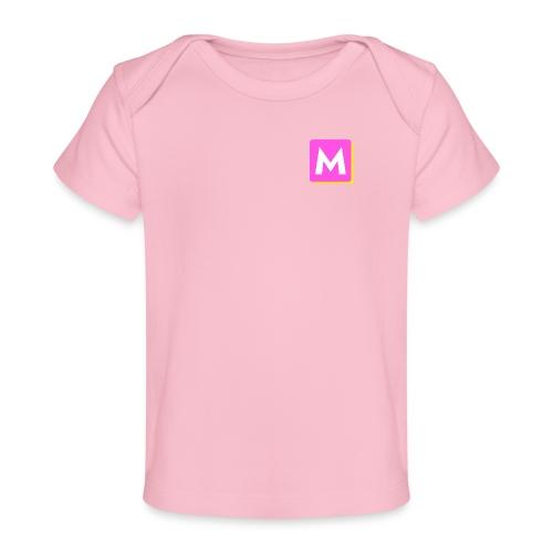 ByMINA logo - Økologisk T-shirt til baby