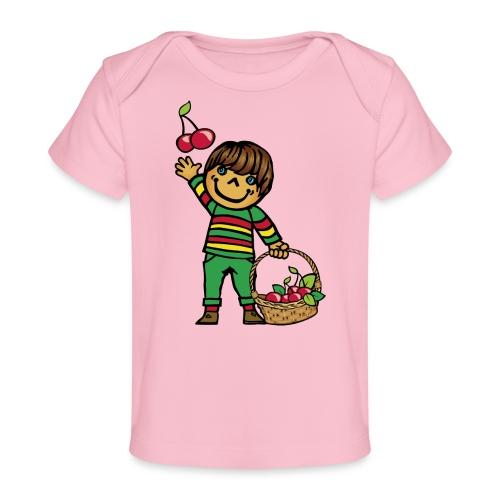 07 kinder kapuzenpullover hinten - Baby Bio-T-Shirt