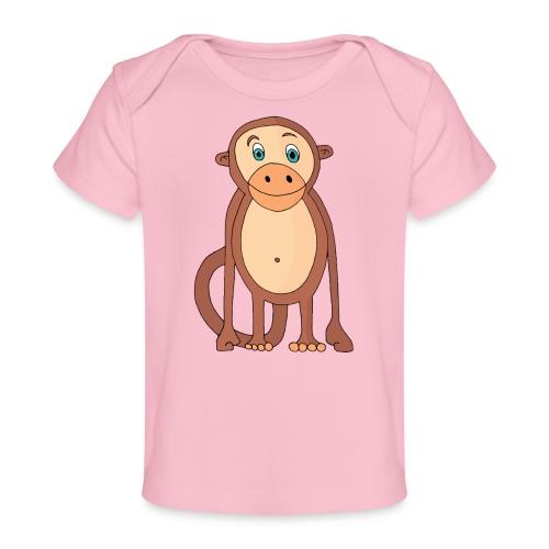 Bobo le singe - T-shirt bio Bébé