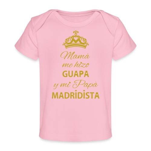 Guapa Madridista - Maglietta ecologica per neonato