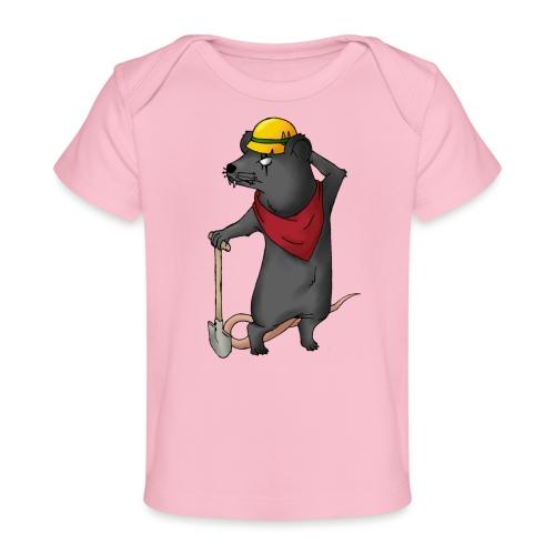 Arbeiter Ratte - Baby Bio-T-Shirt