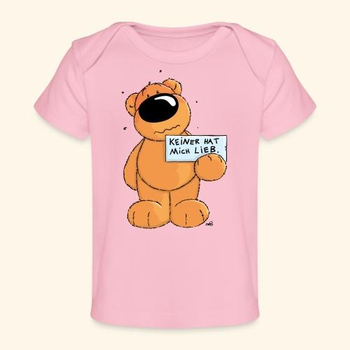 chris bears Keiner hat mich lieb - Baby Bio-T-Shirt