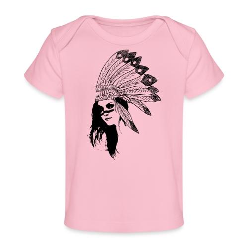Indienne - T-shirt bio Bébé