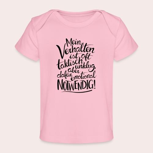 Emotional Notwendig - Baby Bio-T-Shirt
