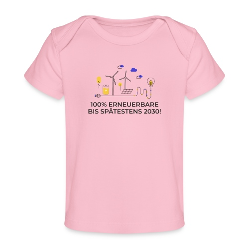100% Erneuerbare 2030 2 - Baby Bio-T-Shirt
