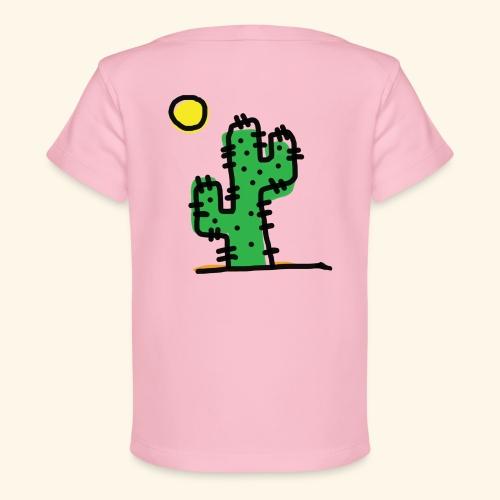 Cactus single - Maglietta ecologica per neonato