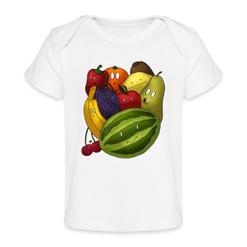 Happy Fruits - Baby Bio-T-Shirt
