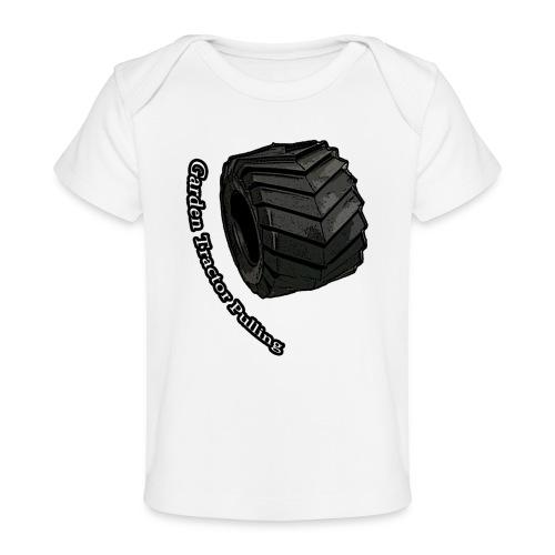 Tractor Pulling - Økologisk T-shirt til baby