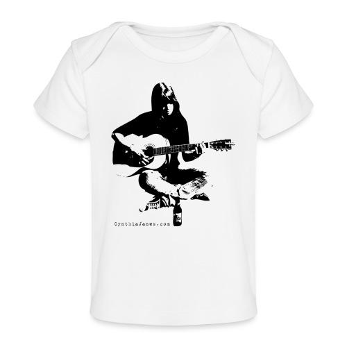Cynthia Janes guitar BLACK - Organic Baby T-Shirt