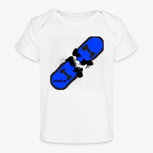 skateboard 512 - Økologisk T-shirt til baby
