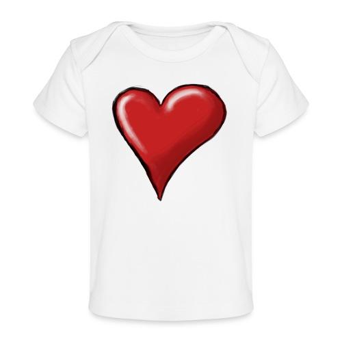 Love (coeur) - T-shirt bio Bébé