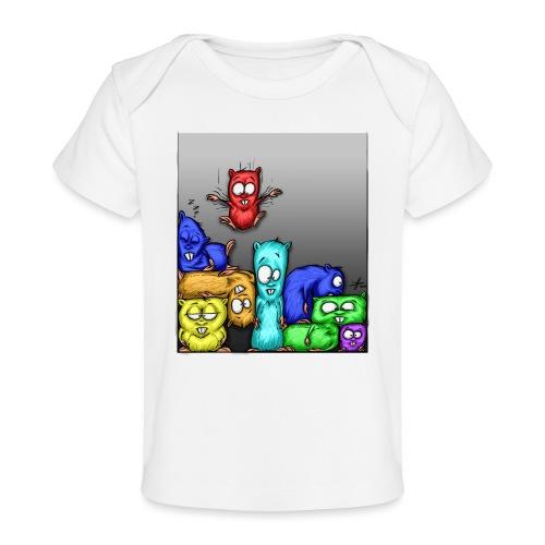 hamstris_farbe - Baby Bio-T-Shirt
