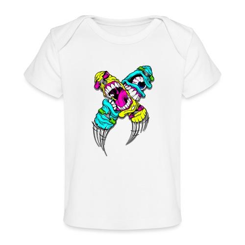 Skate - Økologisk baby-T-skjorte