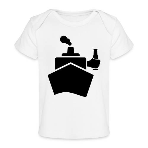 King of the boat - Baby Bio-T-Shirt