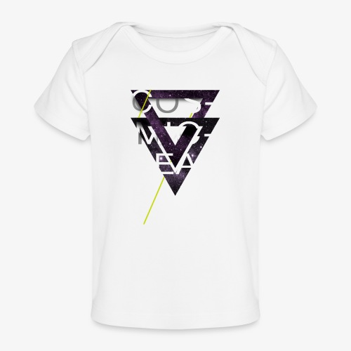Cosmicleaf Triangles - Organic Baby T-Shirt