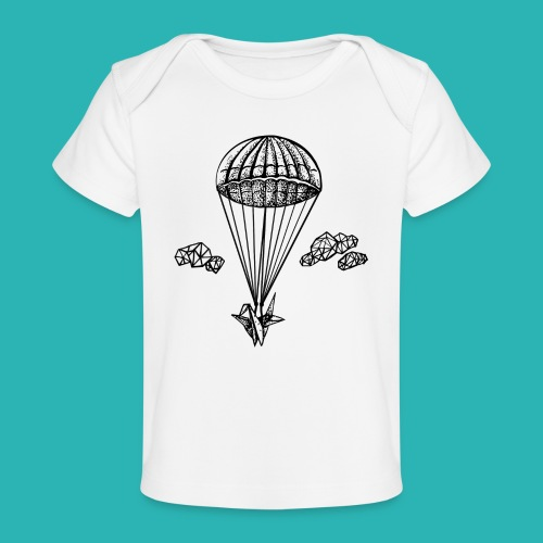 Veleggiare_o_precipitare-png - Maglietta ecologica per neonato