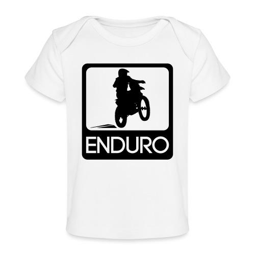 Enduro Rider - Baby Bio-T-Shirt