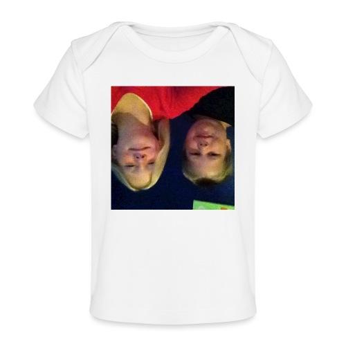 Gammelt logo - Økologisk T-shirt til baby