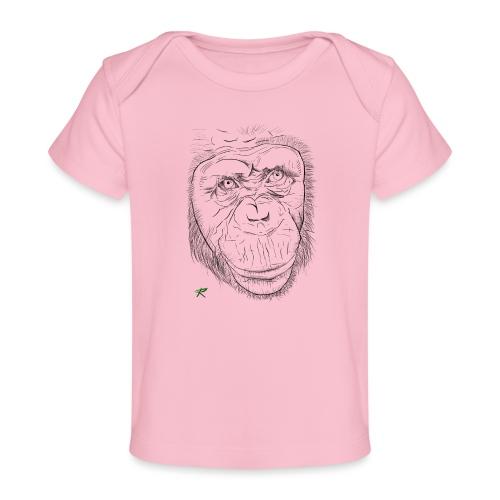 Scimpanzè - Maglietta ecologica per neonato