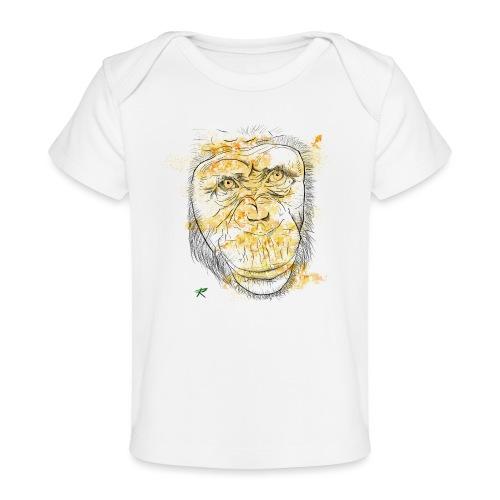 Scimpanzè color - Maglietta ecologica per neonato