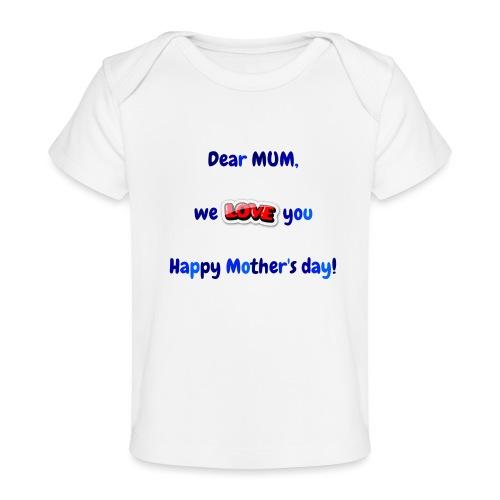 Maman - T-shirt bio Bébé