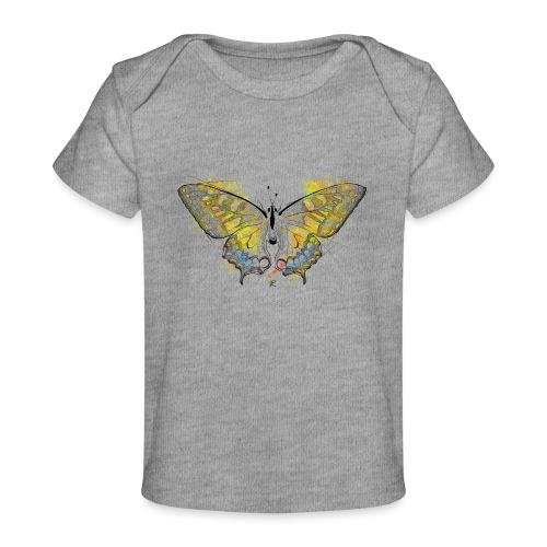 Butterfly color - Maglietta ecologica per neonato