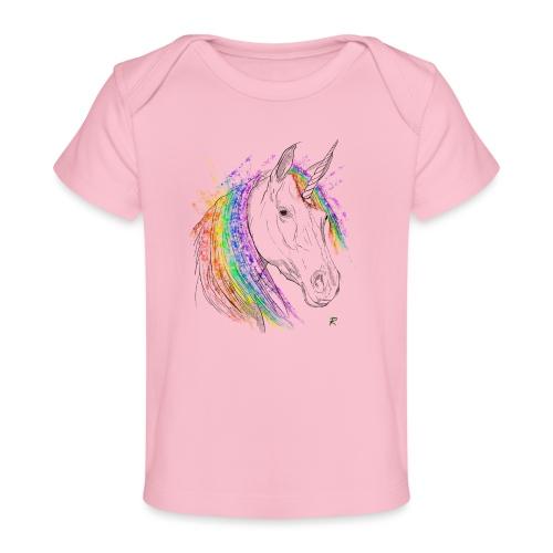 Unicorno - Maglietta ecologica per neonato