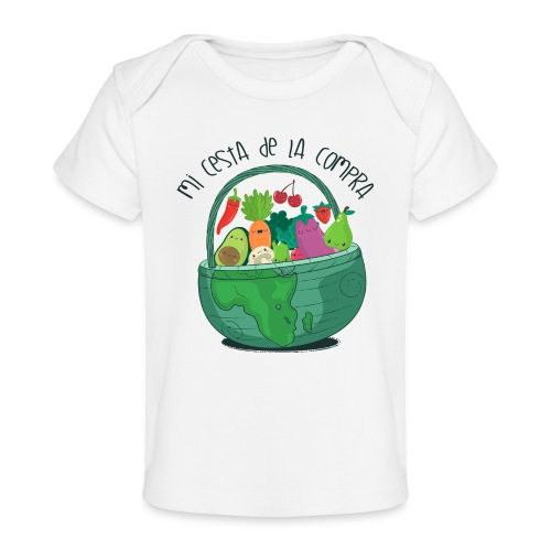 Mi cesta de compra - Camiseta orgánica para bebé