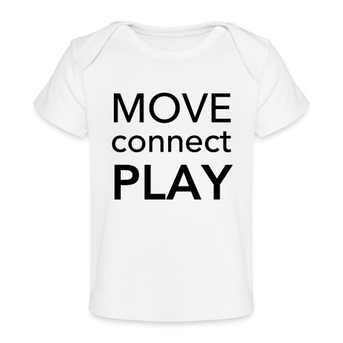 Move Connect Play - AcroYoga International - Organic Baby T-Shirt
