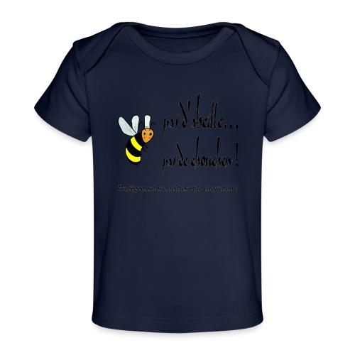 Pas d'abeille, pas de chouchen - T-shirt bio Bébé