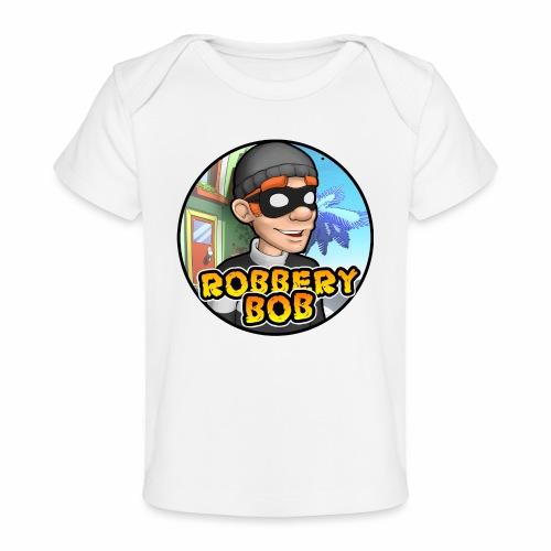 Robbery Bob Button - Organic Baby T-Shirt