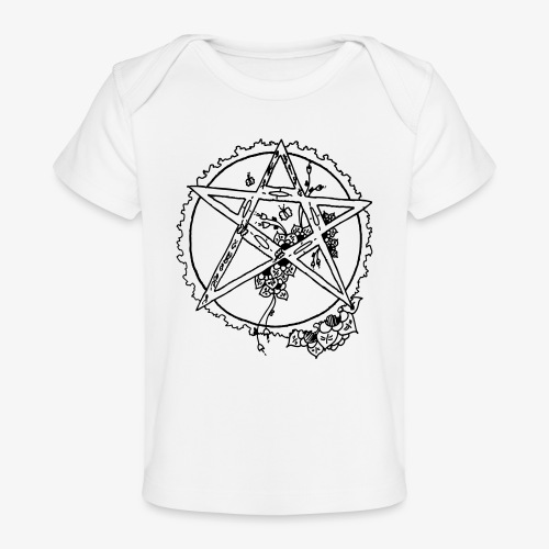 Flowergram - Ekologisk T-shirt baby