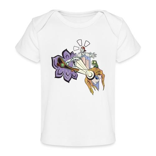 Spring Doodle - Baby bio-T-shirt