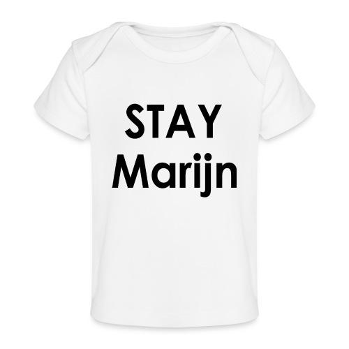 stay marijn black - Baby bio-T-shirt