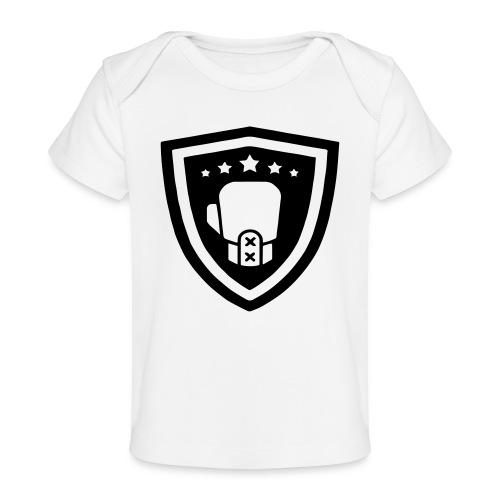 mitch gym schild - Baby bio-T-shirt