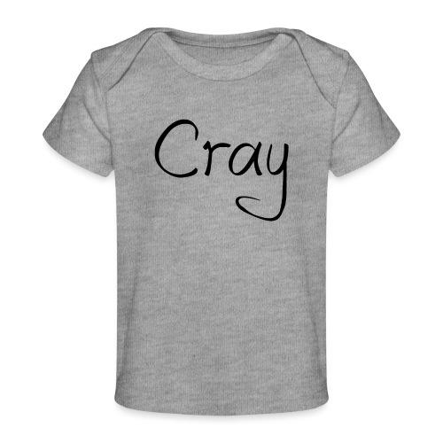 Cray Black Schrifft - Baby Bio-T-Shirt