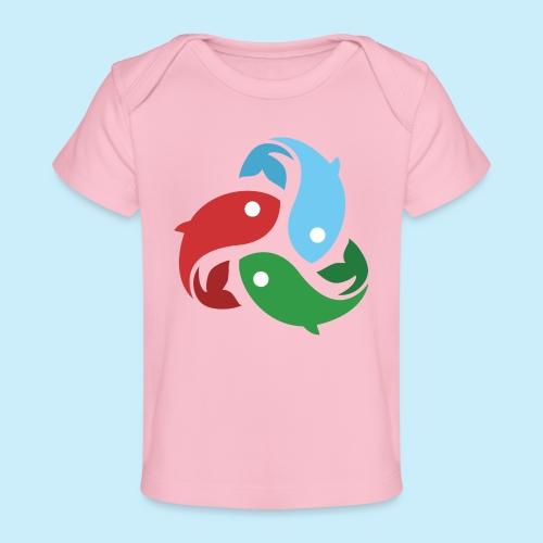 De fiskede fisk - Økologisk T-shirt til baby