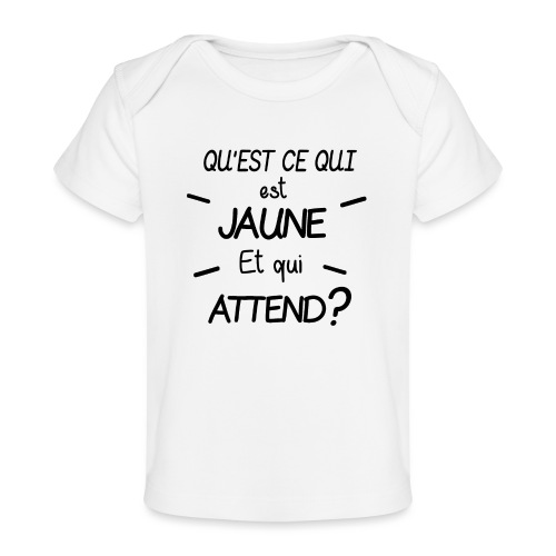 Edition Limitée Jonathan - T-shirt bio Bébé