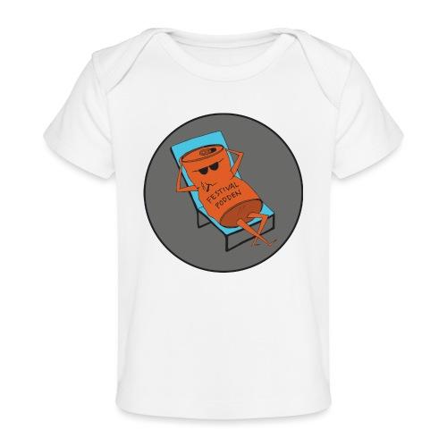 Festivalpodden - Loggan - Ekologisk T-shirt baby