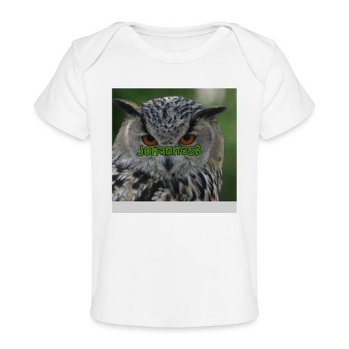 JohannesB lue - Økologisk baby-T-skjorte
