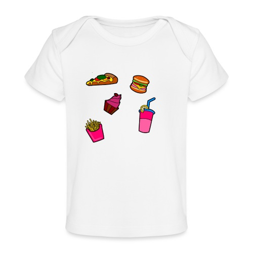 Fast Food Design - Baby Bio-T-Shirt