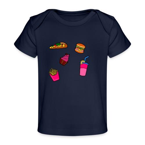 Fast Food Design - Baby Bio-T-Shirt