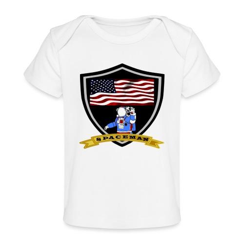 Spaceman Design - Baby Bio-T-Shirt