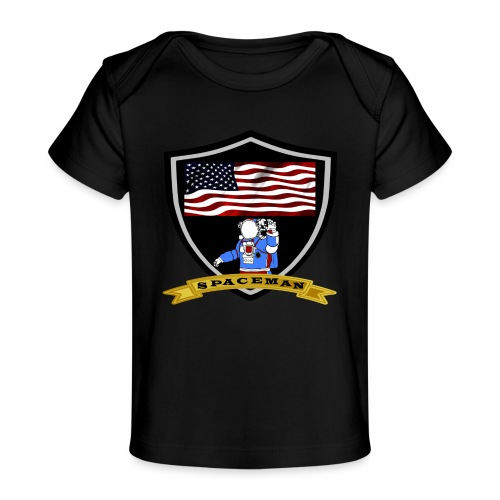 Spaceman Design - Baby Bio-T-Shirt