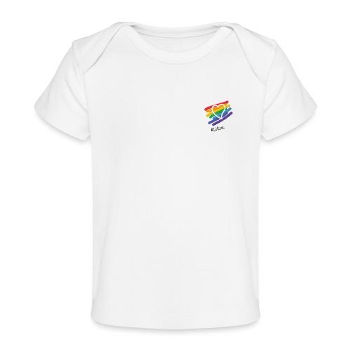 Rita color - Camiseta orgánica para bebé