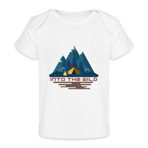 Into the wild - T-shirt bio Bébé