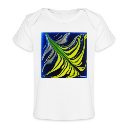 TIAN GREEN Mosaik DK037 - Hoffnung - Baby Bio-T-Shirt