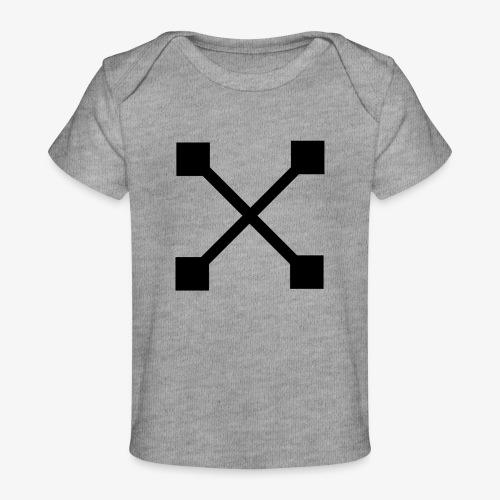 X BLK - Baby Bio-T-Shirt