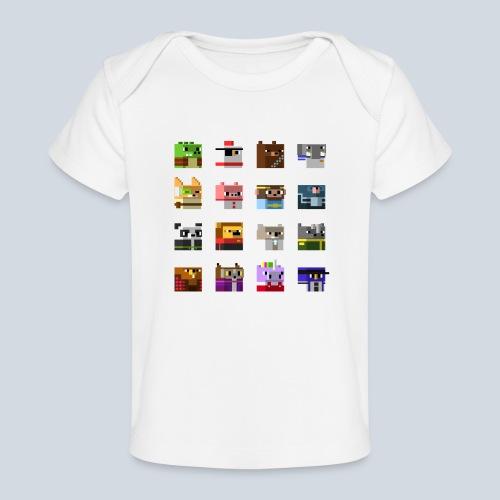 A Planet of Mine Animals - T-shirt bio Bébé